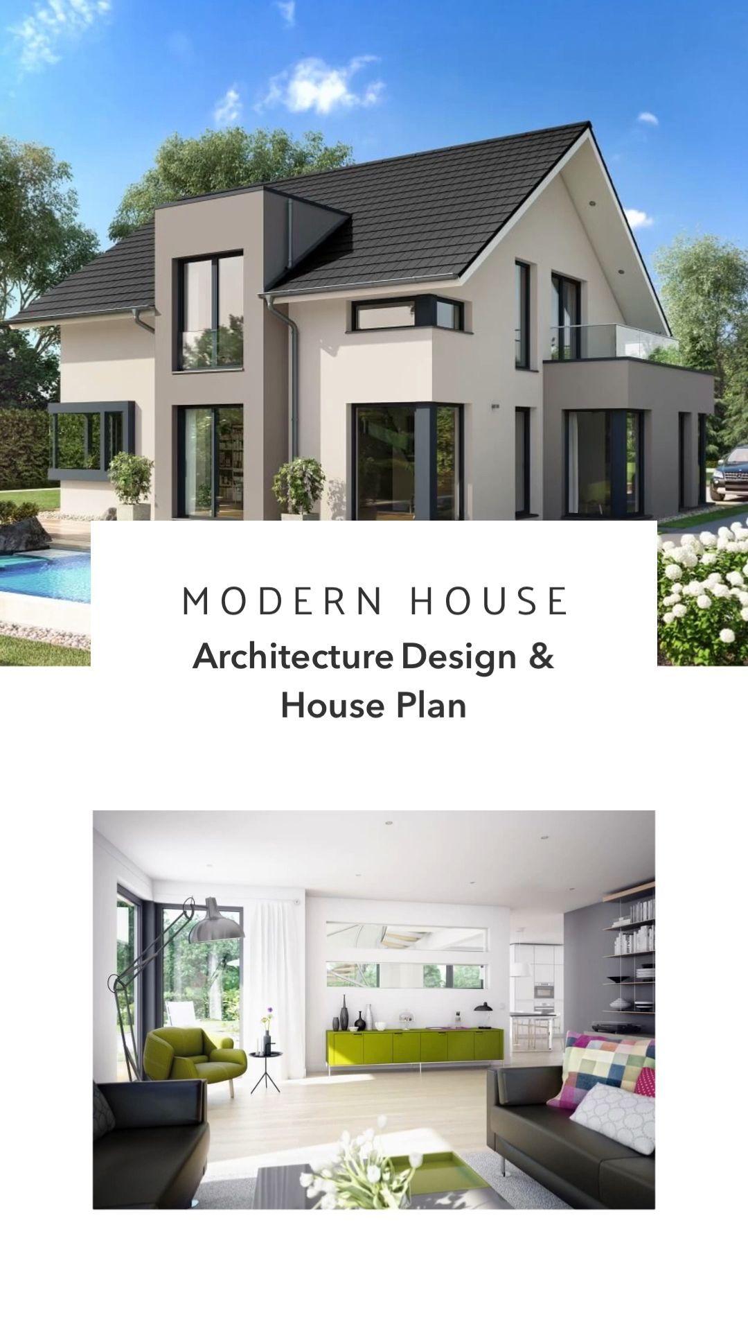 Modern Architecture Home Plan Design Interior Ideas Architecture Design Ideas Interior Modern Family House Modern Architecture House Architecture House