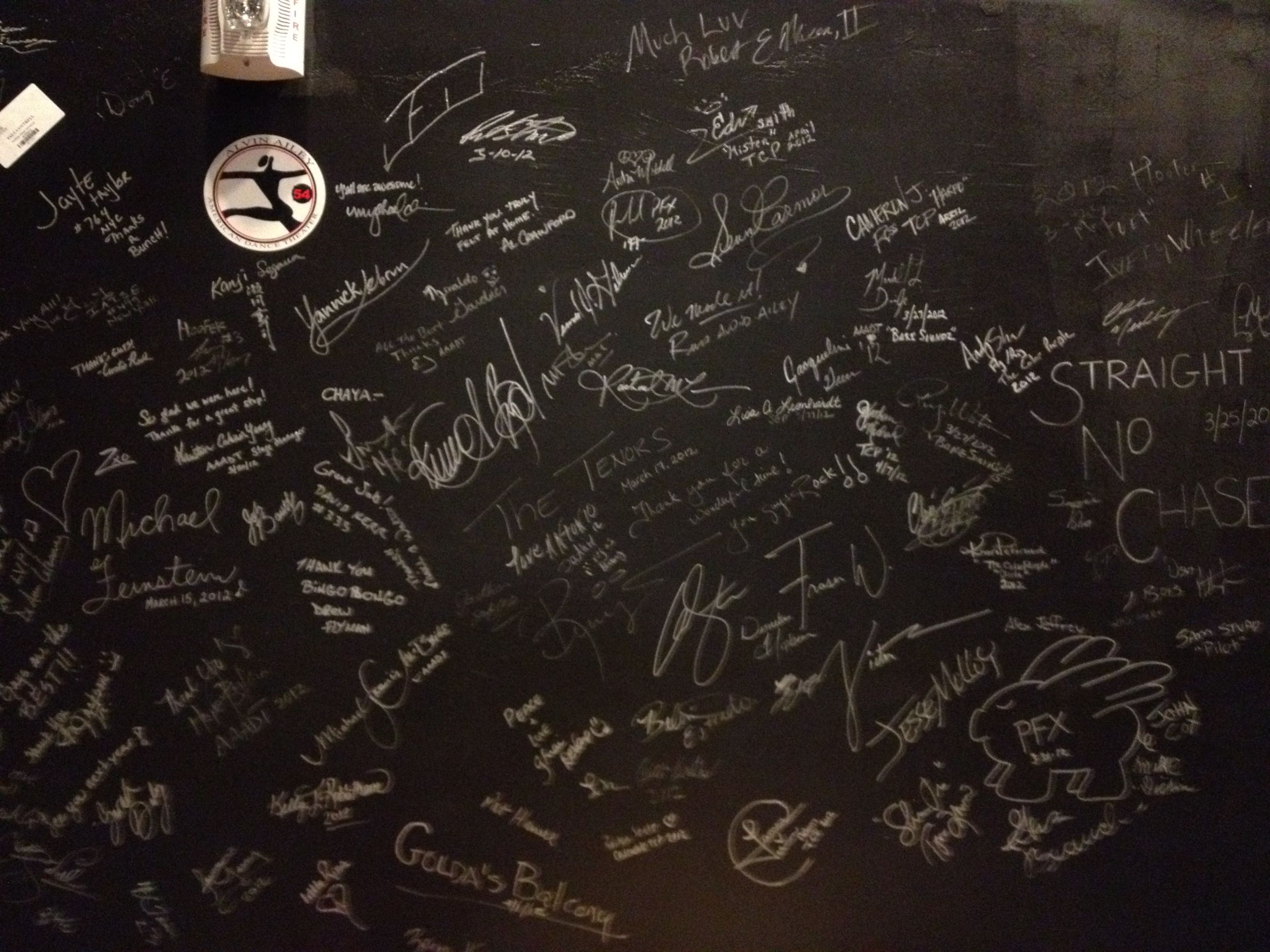 Nv united states rough in piping for outdoor island sink and bbq - Autograph Wall Backstage In Reynolds Hall At The Smith Center Las Vegas Nv