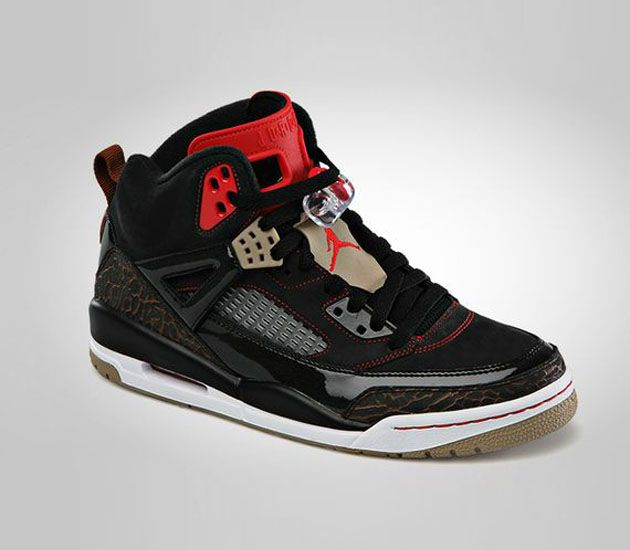 Air Jordan Spizike-Black-Challenge Red  sneakers  kicks 98dcd7f56ae1