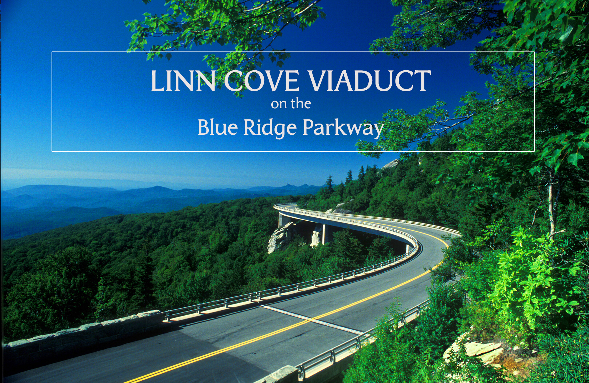 At Milepost 304.6, Linn Cove Viaduct is a must-see stop on the Blue Ridge Parkway. #visitnc