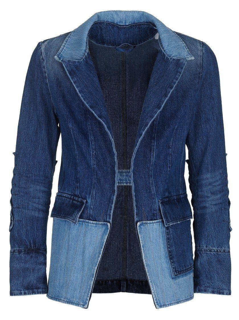 VALENTINO Denim Blazer. #valentino #cloth #denim jackets ...