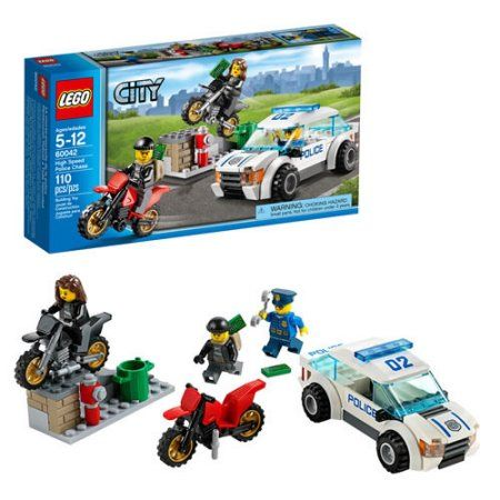 Lego 60042 City Police High Speed Chase New Sealed
