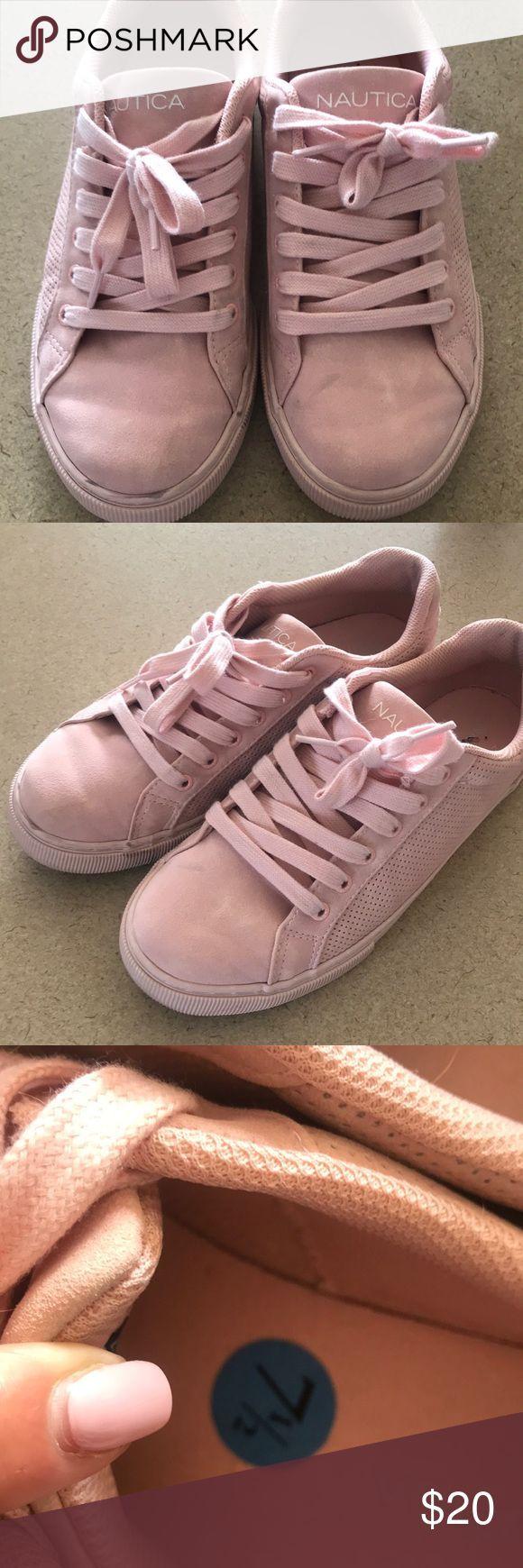 Nautica Shoes blush pink, great