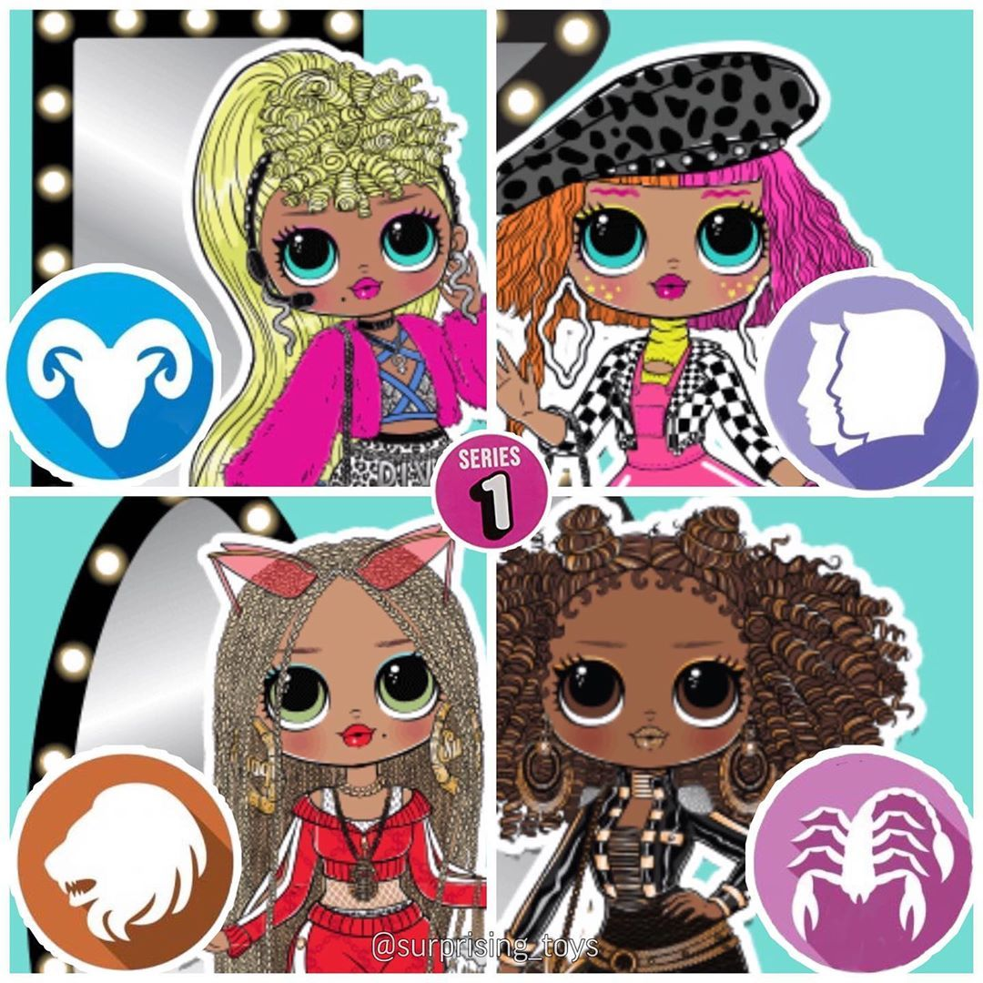 Surprise Dolls And Custom V Instagram Zodiac Signs Of Lol Omg