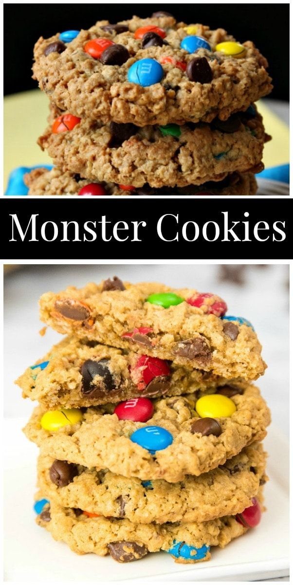The Best Monster Cookies recipe from