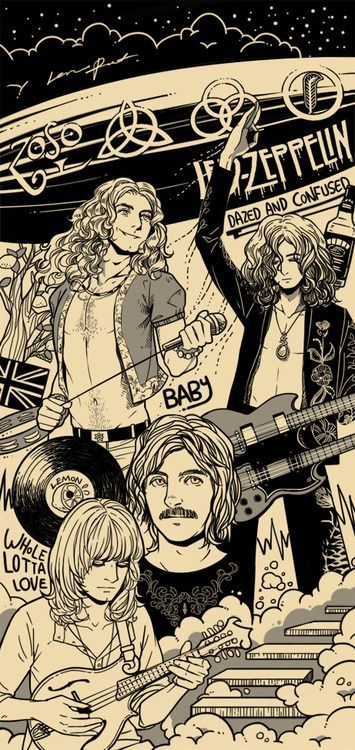 423cde72 Rock Music| Led Zeppelin | Black Dog..RockNRollTap the link now to visit  the one stop shop for Rock Band and Gothic Merchandise!