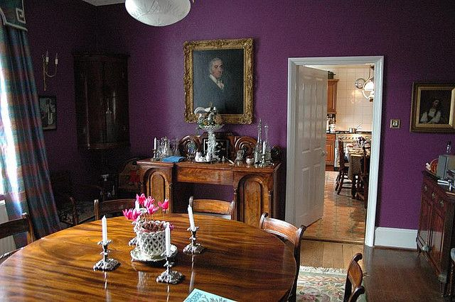 purple dining room in 2018 Dining Room Ideas Pinterest Dining