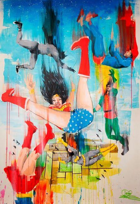 Área Visual: Las ilustraciones y pinturas de Lora Zombie