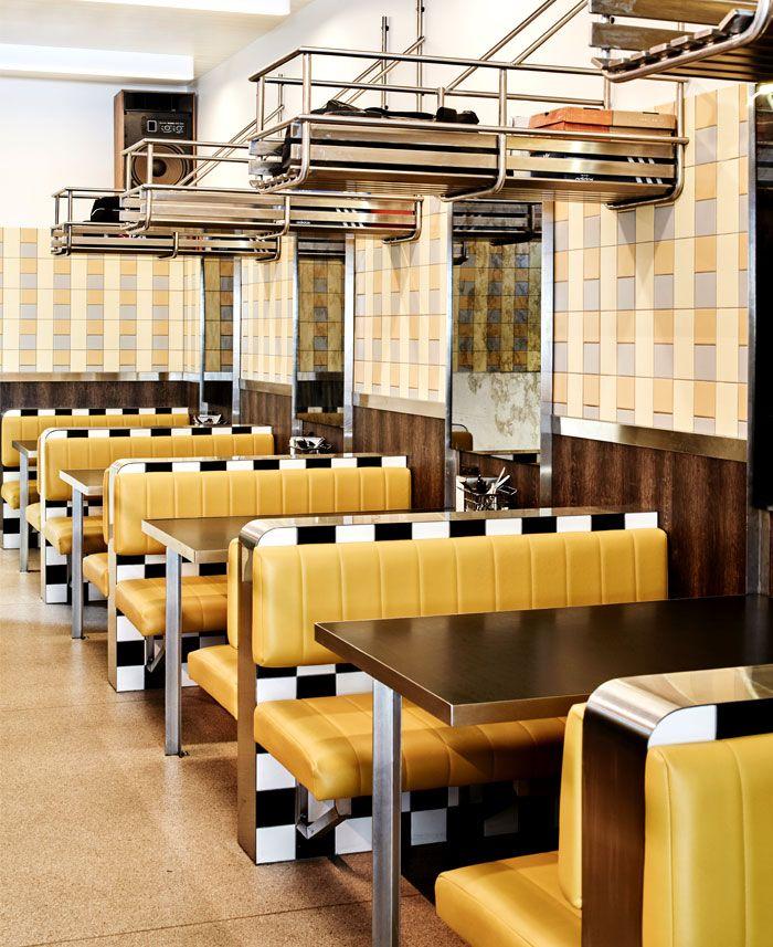 Idées de décoration diner américain vintage city