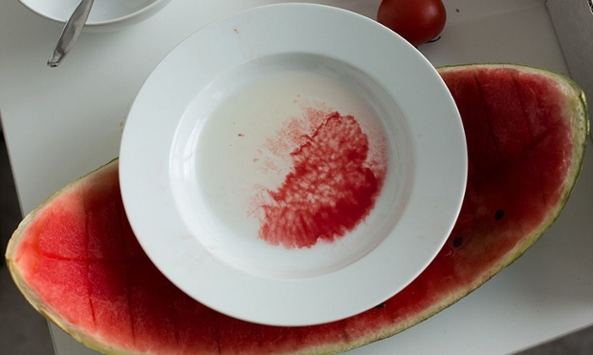 Wolfgang Tillmans, Watermelon still life, 2011
