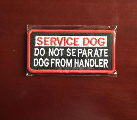 "Service Dog ""Do Not Touch""/""Working Dog"" Patches Service"