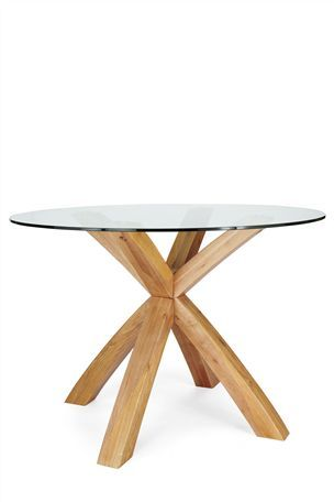 Buy Shropshire Round Oak And Glass Dining Table From The Next Uk Online Shop Glass Round Dining Table Modern Round Glass Kitchen Table Glass Dining Table