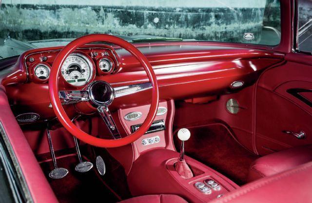1957 Chevy Bel Air Interior Interiors 1957 Chevrolet