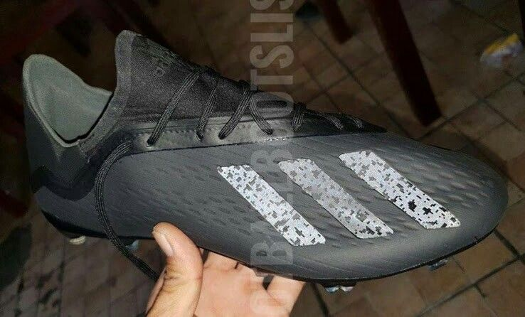 the best attitude dc908 040e8 Unique Blackout next-gen adidas x 18 2018-2019 Shadow Mode boots leaked