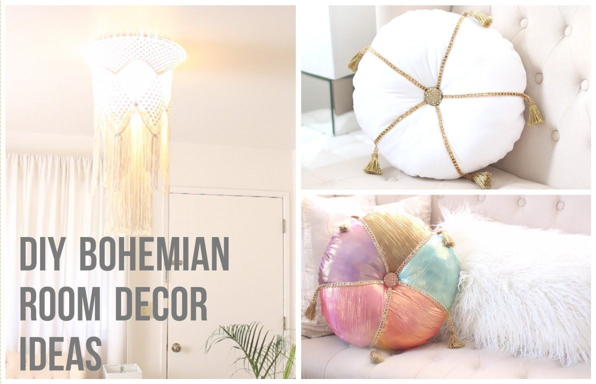 DIY Bohemian Room Decor Ideas | DIY | Pinterest