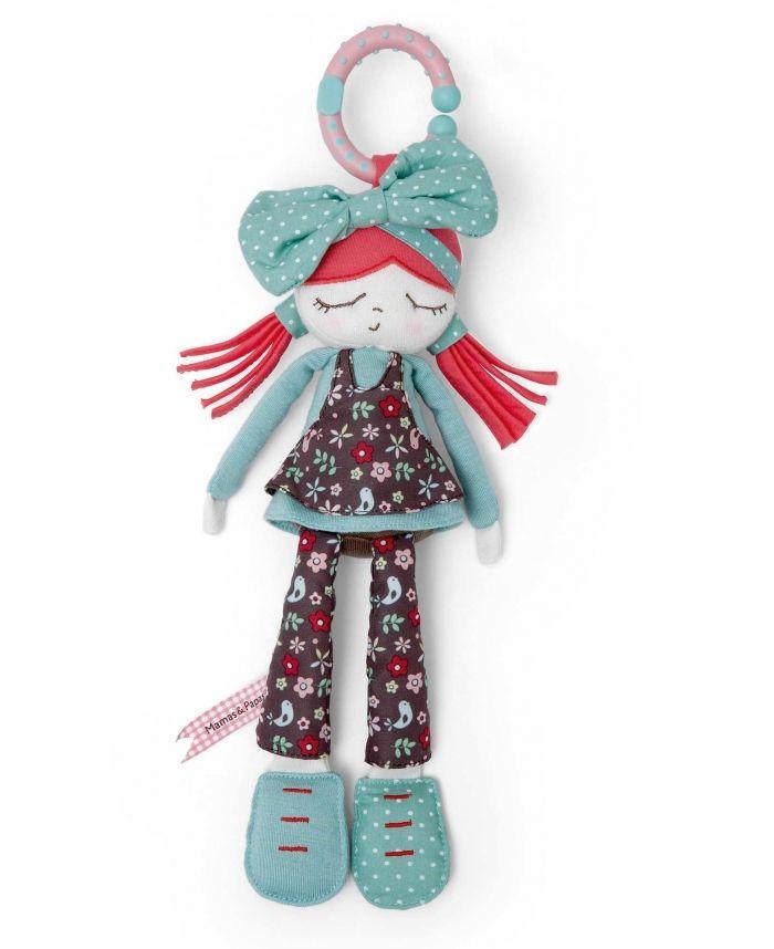 Plush Stroller Toy Bow Rag Doll At Mamas Papas Mamas