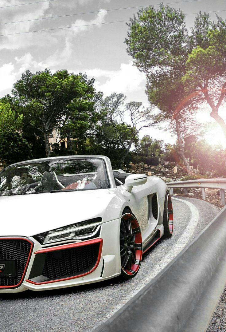 Audi White in 2020 Audi r8 v10, Audi r8 convertible