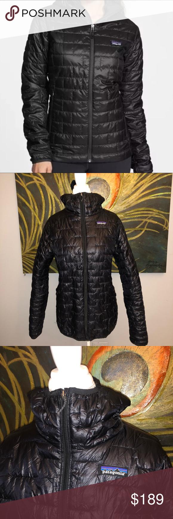 Patagonia Black Puffer Jacket Black Puffer Jacket Puffer Jackets Jackets [ 1740 x 580 Pixel ]