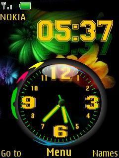 Nokia Dual Clock 2700 classic,2720 Fold ,2730 Classic ,3600