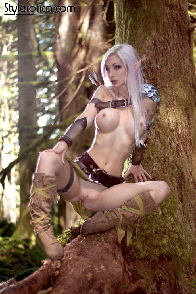 Sexy elf girl cosplay porn consider