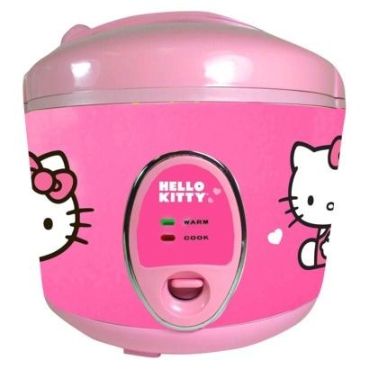 Licensed Hello Kitty Cookware Pink Rice Cooker And Steamer Target Stores Nation Wide