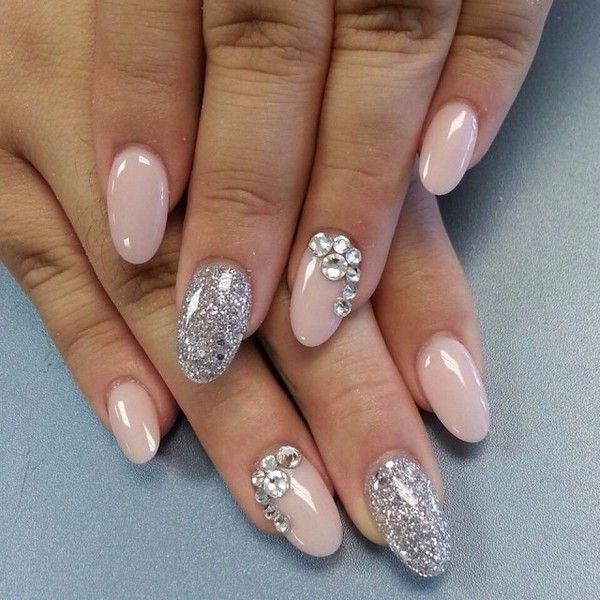 21 Oval Nails Designs with Pictures [2018   Long oval nails, Oval ...
