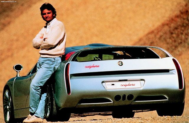 Alfa-Romeo Scighera Concept (ItalDesign) (1997)