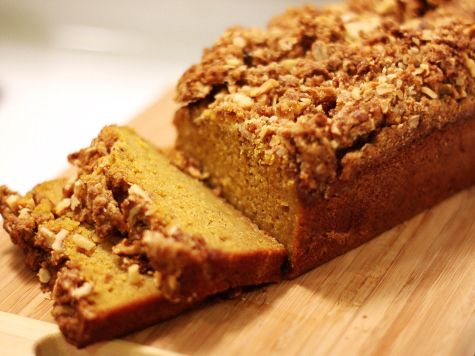 Streusel topped pumpkin bread recipe pumpkin bread tasty a moist and dense pumpkin bread perfect for a cup of coffee on a cold fall forumfinder Images