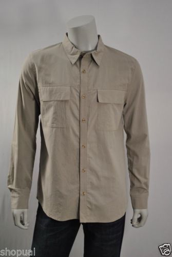 Objects Without Meaning Button Front Shirt MENS NWT sz M Taupe Cotton $245 https://t.co/VCfT41xto7 https://t.co/ubqGuktZHi