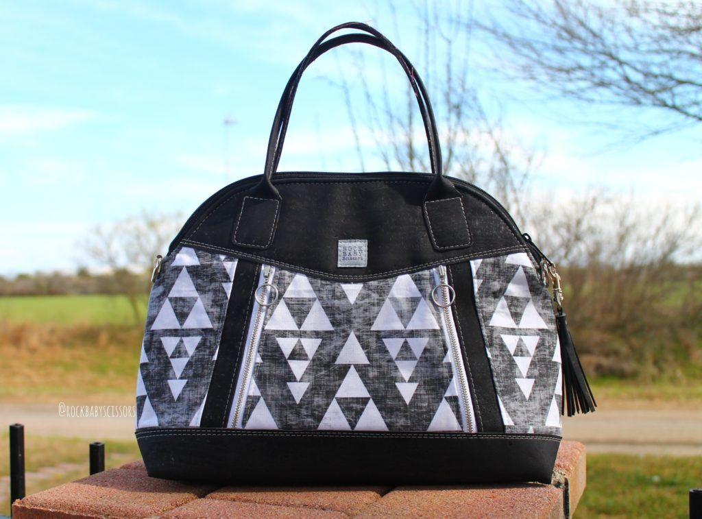 Sublime Bag Sewing Pattern by   Pinterest   Taschen nähen, Nähen und ...