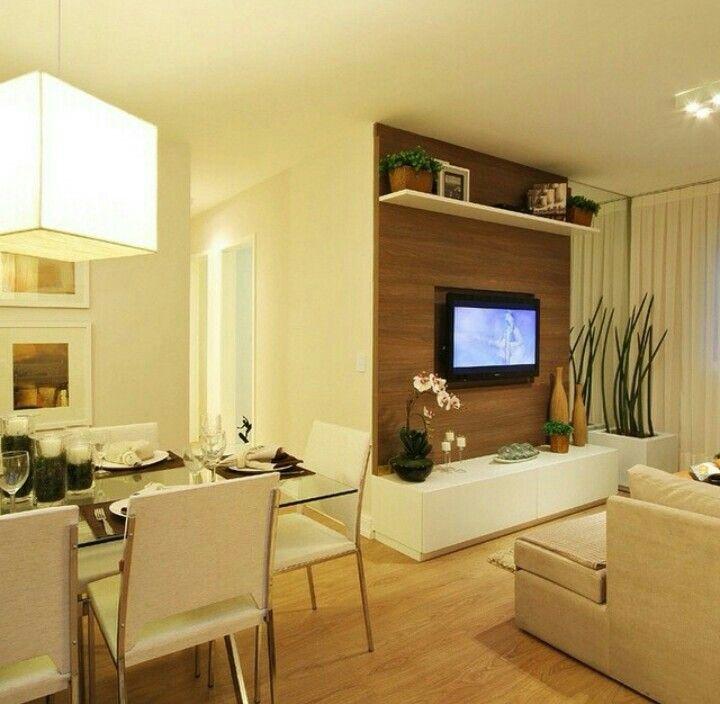Ambientes integrados | ideas geniales | Pinterest | Wall tv ...