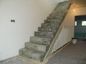 Beton Cire Treppe beton unique beton cire beton cire betontreppe vor und nach