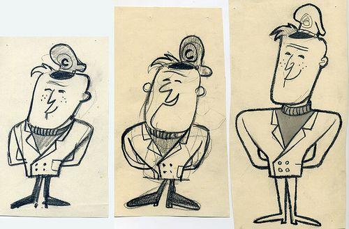 Cap'n Crunch character design