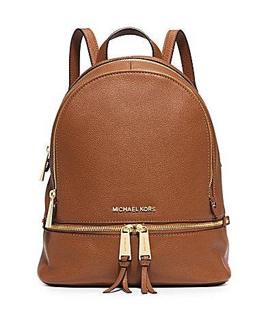 In my dreams MICHAEL Michael Kors Rhea Zip Small Backpack #Dillards