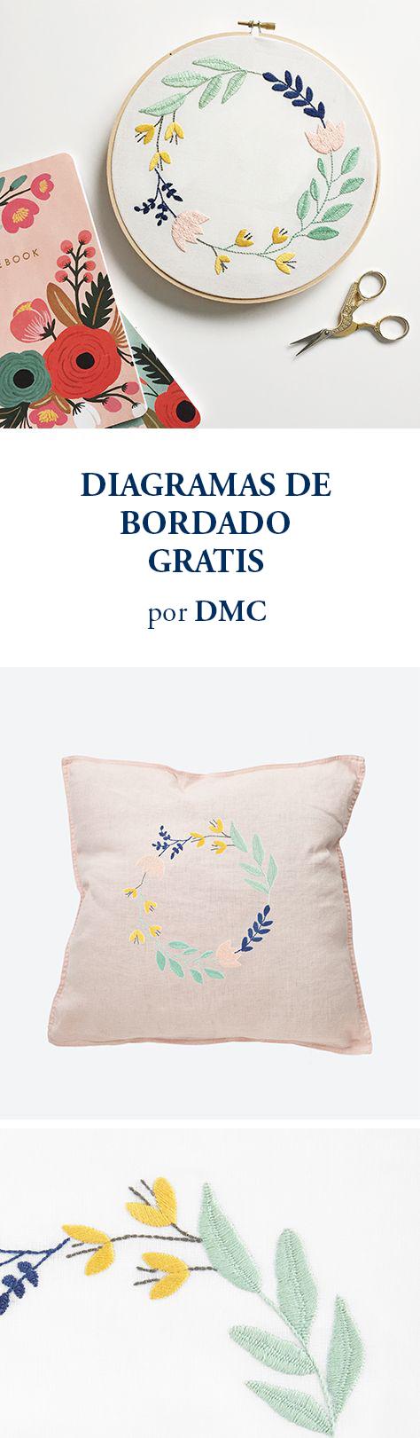 DIAGRAMAS DE BORDADO GRATIS POR DMC | FREE PATTERNS