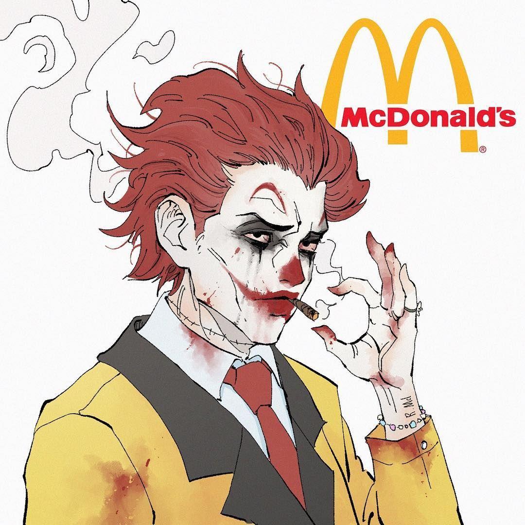 If Fast Food Mascots Were Super Villains 2 Mcdonalds Previous