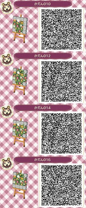 Flower Boxes To Match The Path I M Using Animal Crossing Qr