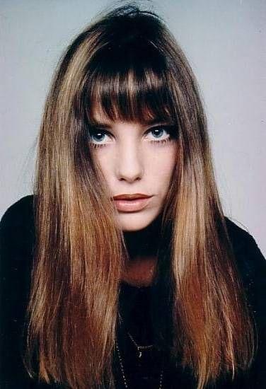 Jane Birkin Goldic ヘアスタイル ロング ロングヘア 前髪 美髪