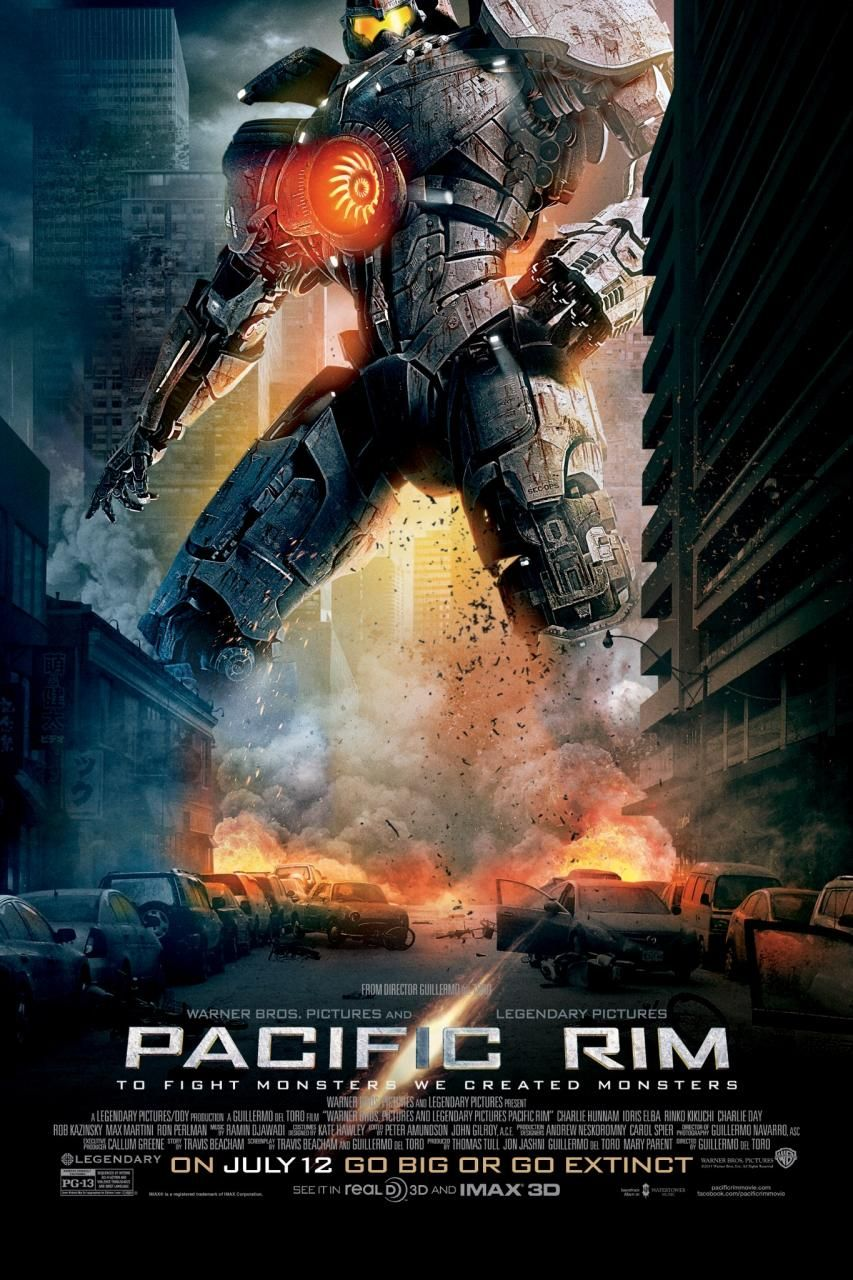 New Pacific Rim Poster Towers Over The Rest Carteles De Cine