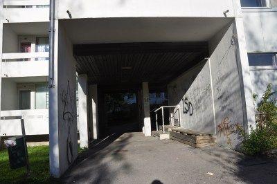 Graffitikäytävä päivällä