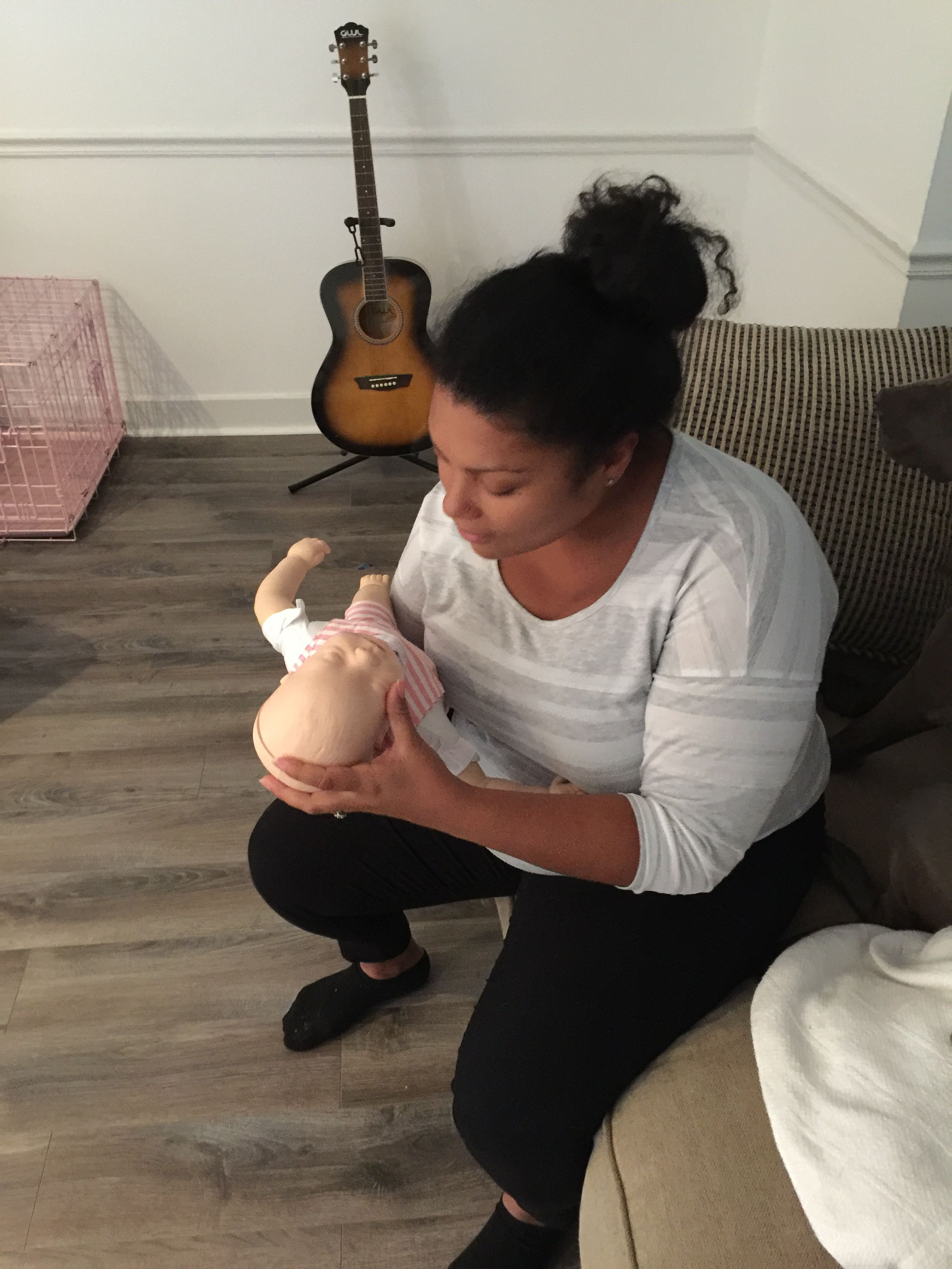 Great infant cpr class with ella and travis of ella rose cleaning great infant cpr class with ella and travis of ella rose cleaning services raleigh nc congrats to you both on your new bundle of joy 1betcityfo Images