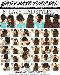 Hairstyles For School Easy Easy Hairstyles For Long Hair For School Stepstep  Google