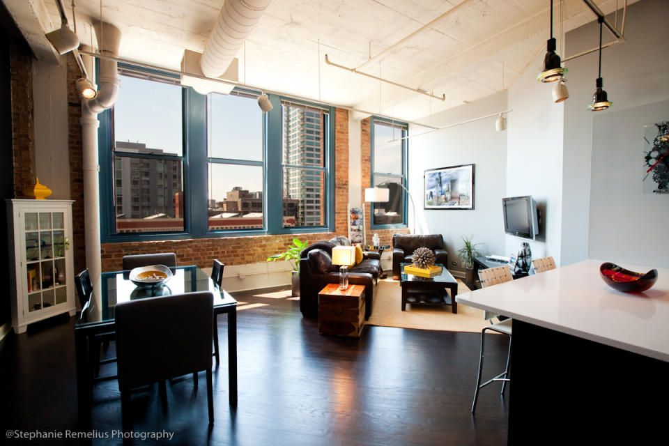 Modern From A Historic Printers Row Lofts Point Of View In Chicago Design Shuffles Blog