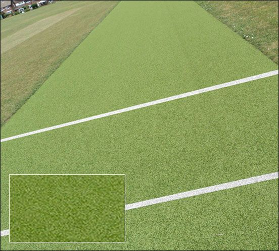 Scanabowl B Artificial Non Turf Cricket Pitch Surface Professional Grade Woven Surface Suitable For County Level Play Usually Placed Fo Surface Matting Pitch