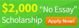 College Prowler 2000 No Essay Scholarship Appy Now For Students