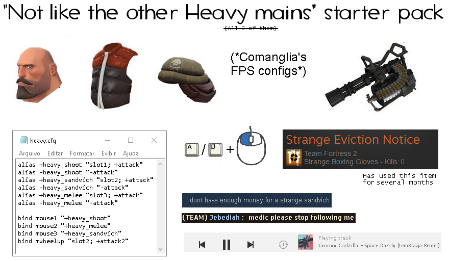Not like the other Heavy mains