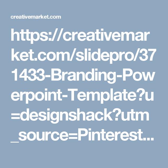 Branding powerpoint template template and presentation templates httpscreativemarketslidepro371433 branding powerpoint toneelgroepblik Gallery