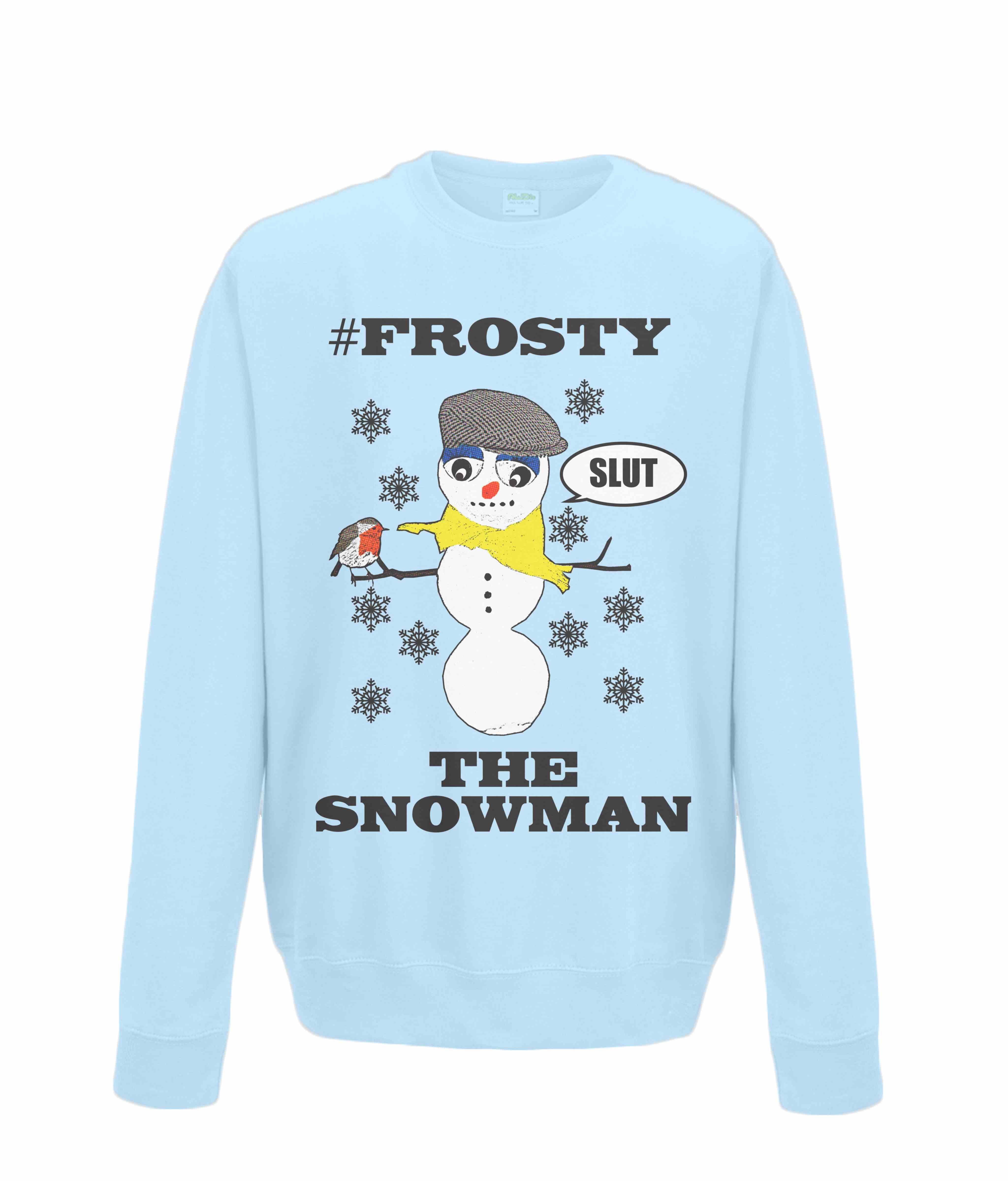 b99b41f5b7 #Frosty The Snowman! Rude, Funny Christmas Jumper! #fashion #style #humour # christmas #christmas song #frostythesnowman #robinredbreast #rude ...