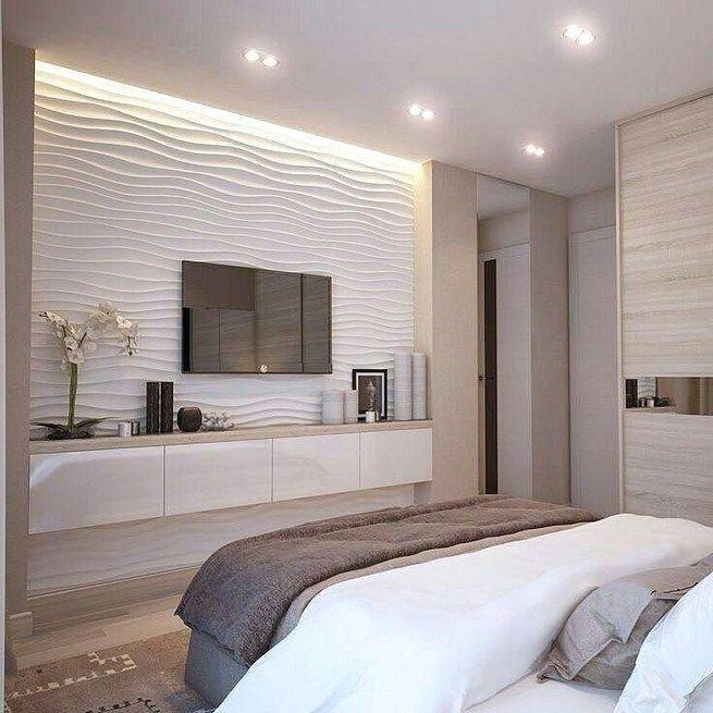 Pin By Erina Kumanova On Bedroom Small Master Bedroom Bedroom Tv Wall Luxurious Bedrooms