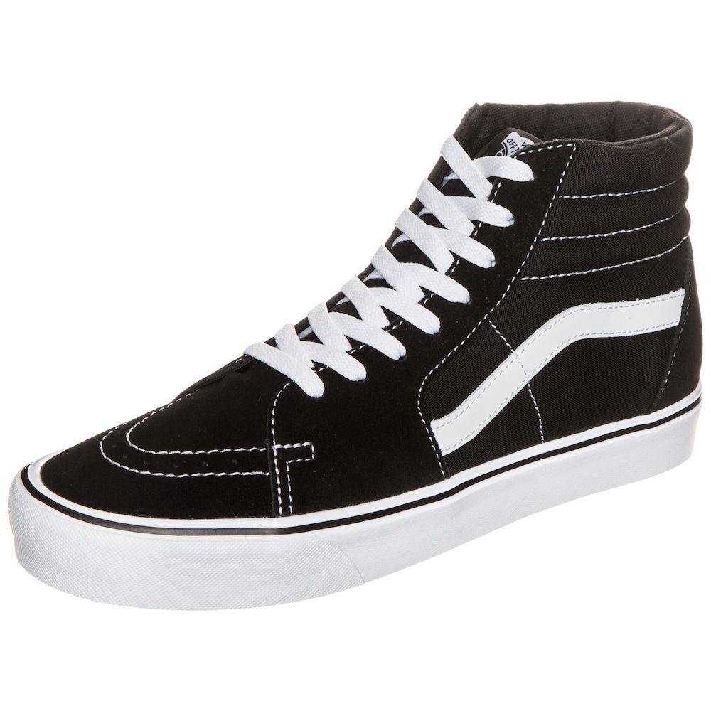 Vans Sk8 Hi Lite shoes black beige